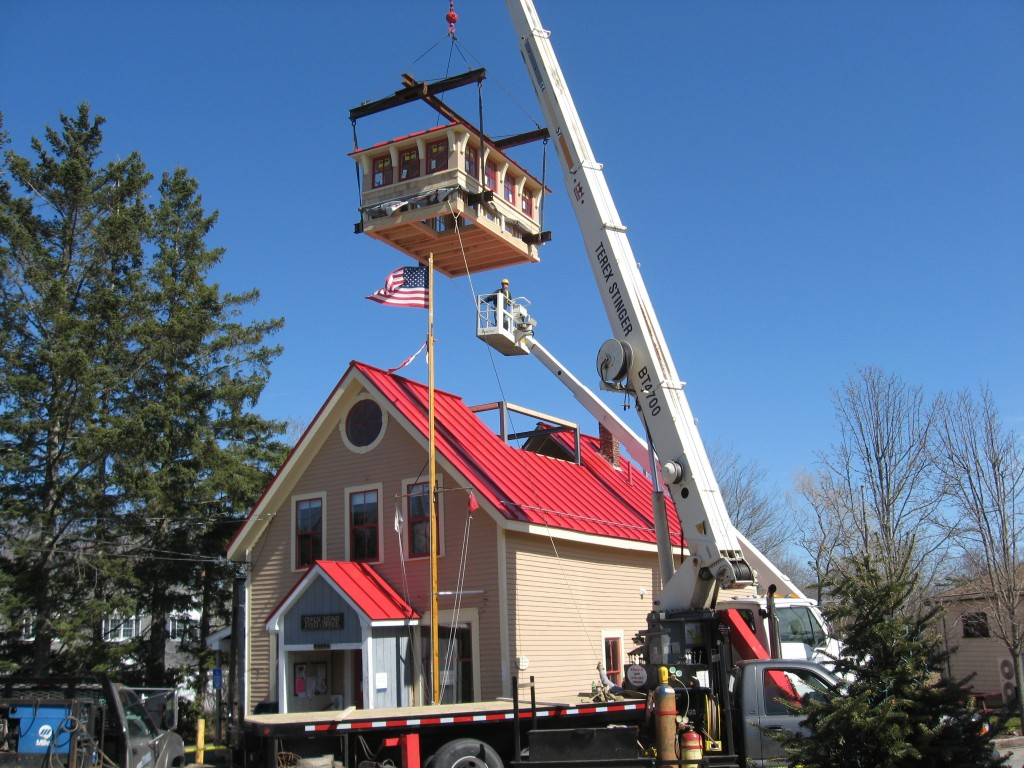 Owls Head Post Office Cupola Phi Builders Architects