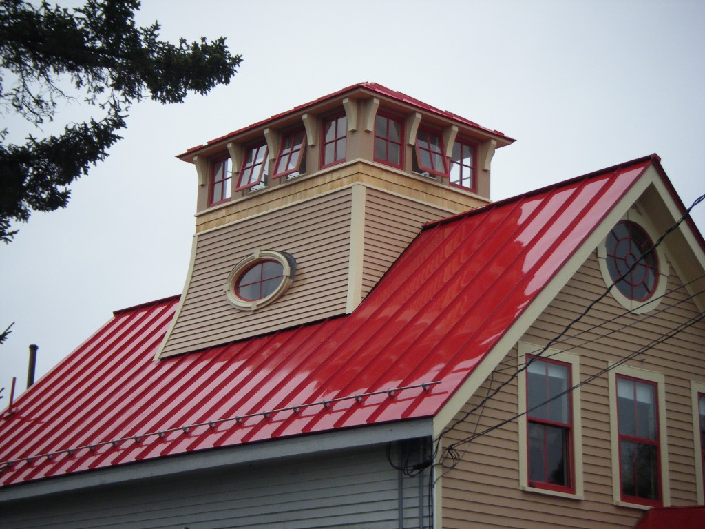 Owls Head Post Office Cupola | Phi Builders + Architects