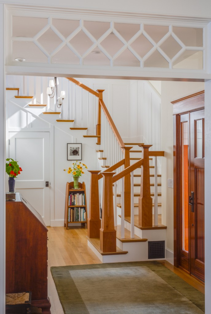 the homes interior reflects the traditional details and craftsmanship inherent in classic coastal new england architecture design build phi builders - Phi Home Designs